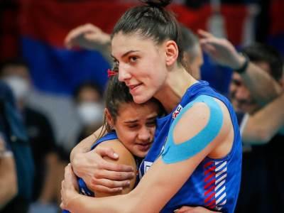 Tijana Bošković i Katarina Lazarević