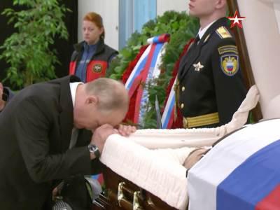 Vladimir Putin sahrana Jevgenij Ziničev