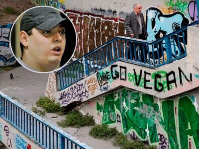 velja nevolja stepenice grafiti