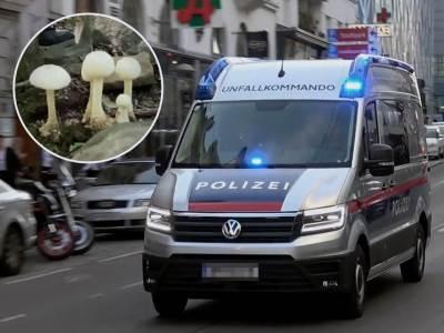 Austrija policija pečurke