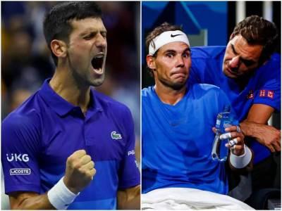 Novak Đoković Rafael Nadal Rodžer Federer