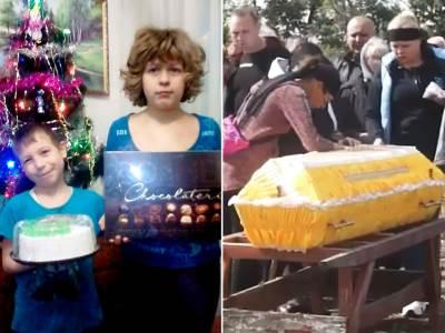 Deca i sahrana, Ukraina