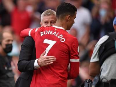 Kristijano Ronaldo i Ole Gunar Solskjer