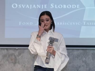 Milena Radulović, osvajanje slobode, nagrada (13)
