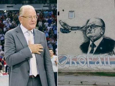 Dušan Duda Ivković mural