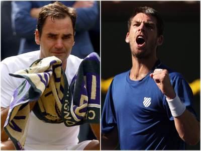 Rodžer Federer i Kameron Nori