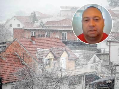 Marko Čubrilo sneg