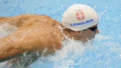 Ivan Lenđer, plivanje