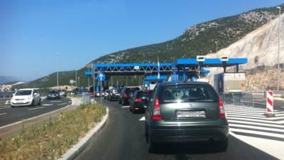 granica, prevoz, putovanja, automobili