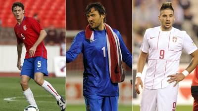 Nemanja Matić, Vladimir Stojković, Aleksandar Mitrović