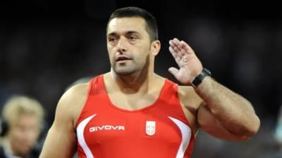 Asmir Kolašinac, atletika