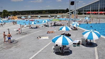 kupanje, leto, lepo vreme, 25 maj, bazen, bazeni, dorol,