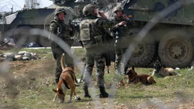kfor, kosovska mitrovica, nemiri