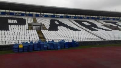 stolice, Partizan, stadion