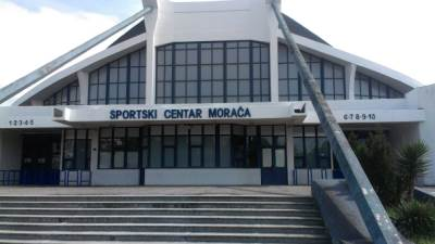 hala Morača, košarka, Budućnost