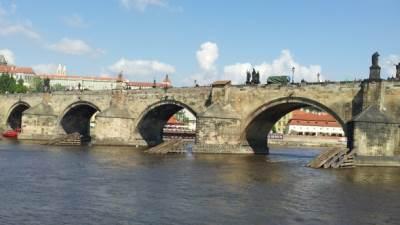 karlov most prag vltava