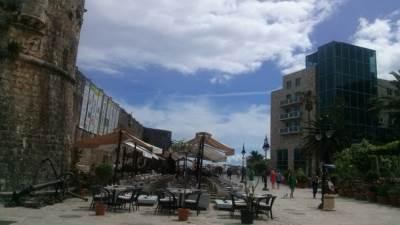 Budva, stari grad, more