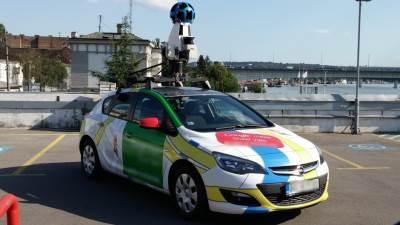 Google auto, Google, Street View