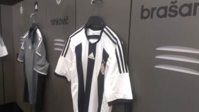 Partizan, dres