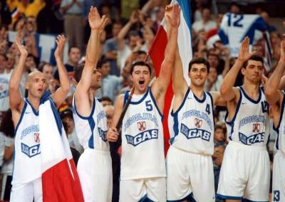 Jugoslavija, košarka, Nikola Lončar, Predrag Danilović, Saša Đorđević