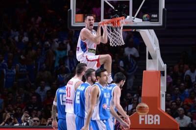 Nikola Kalinić, Srbija, Mundobasket, košarka