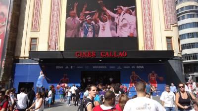 NBA kuća, Madrid, Mundobasket