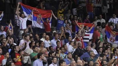Srbija, navijači, Mundobasket, orlovi