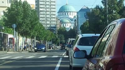 hram svetog Save, hram, Beograd, saobraćaj