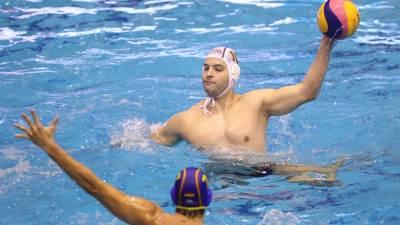 Filip Filipović na utakmici Svetske vaterpolo lige Srbija - Španija