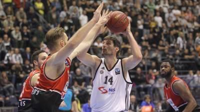 Đorđe Gagić na utakmici Evrokupa Partizan - Lijetuvos Ritas