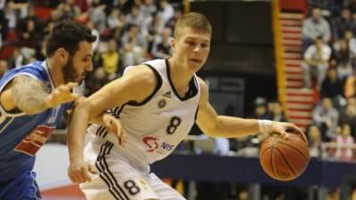 Edo Murić na utakmici ABA lige Partizan - Cibona