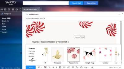 Yahoo, Mail, Yahoo mail