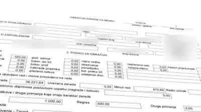 platni listić plate obračun zarada