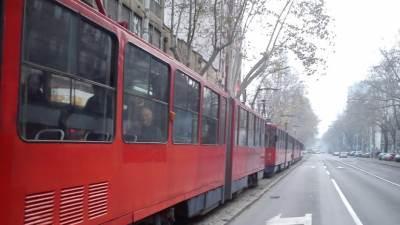 tramvaj tramvaji zastoj gsp prevoz