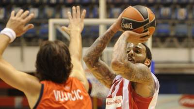 marcus williams sasha vujacic euroleague red star laboral kutxa