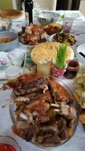 hrana, jelo, božić, meso, pečenje