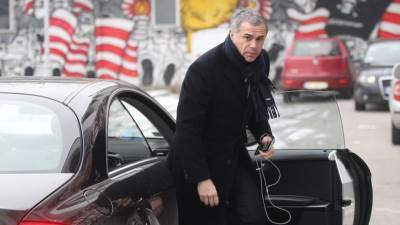 Generalni direktor FK Crvena zvezda Zvezdan Terzić na početku priprema za prolećni deo sezone