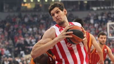 Boban Marjanović Zvezda - Galatasaraj Evroliga