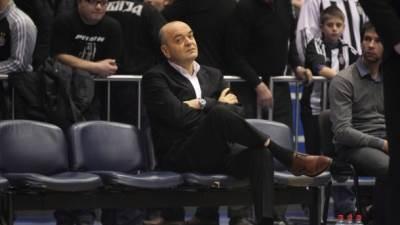 Duško Vujošević trener Partizana