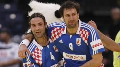 Ivano Balić i Igor Vori rukometaši Hrvatske