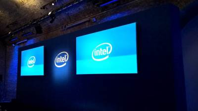 Intel, Intel logo