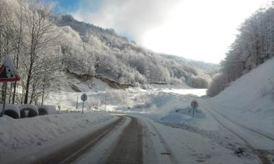 put, saobraćaj, sneg, sneg na putu, snežni put, drum