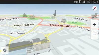 HERE, Mape, Aplikacije, Android, Navigacija