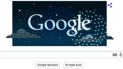 Google Dan drzavnosti Srbije, Google Doodle, Google, Dan državnosti