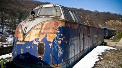 plavi voz, lokomotiva