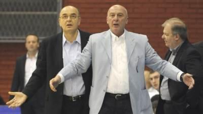 Duško Vujošević Dragan Todorić Velimir Gašić Partizan