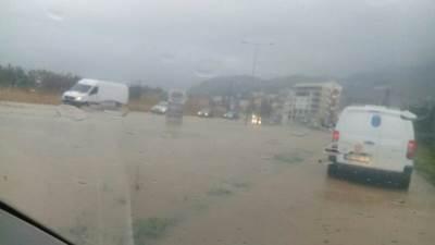 herceg novi crna gora poplave nevreme kiša putevi pod vodm