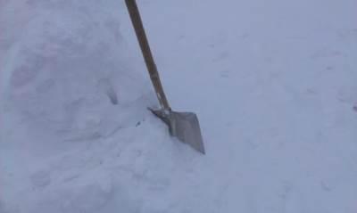lopata sneg kopaonik čišćenje snega zima mećava zavejani