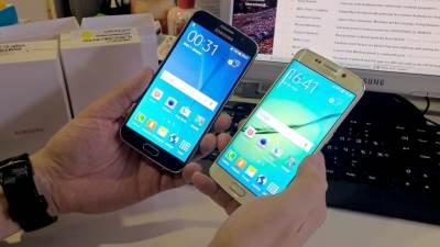 S6 i S6 Edge u ruci, Galaxy S6, S6
