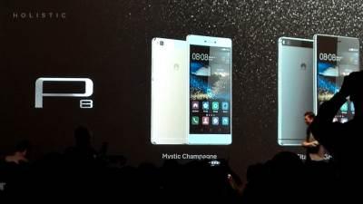 Huawei P8, Android, Huawei